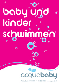 Acquababy Schwimmkurse Flyer